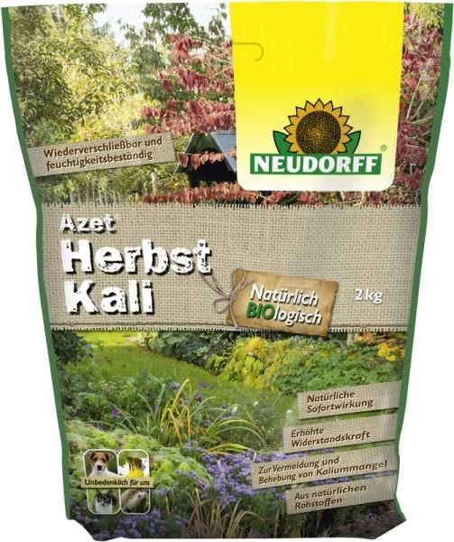 Azet Herbst Kali Kaliumdünger organisch für die Herbstdüngung von Gehölzen 2 Kg Beutel 5,97 €/1 Kg