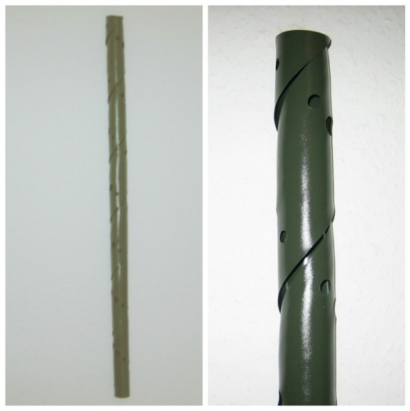1,99 €/m, Verbissschutz Spirale, Stammschutz, 75 cm lang, flexibel, dunkelgrün