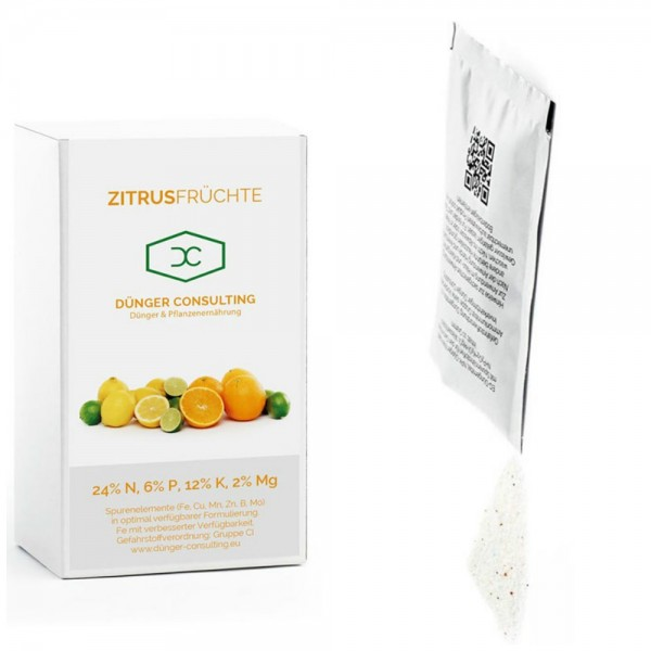 Neu! Dünger für Zitrusfrüchte, 10 Beutel zu je 10 Gramm
