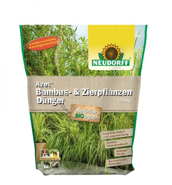 5,11 €/kg Azet Bambus- & Ziergras Dünger organisch für kräftiges Grün 1,75 Kg Beutel