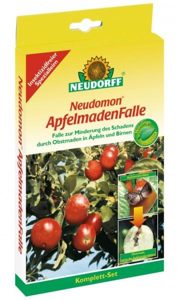 Neudorff Neudomon ApfelmadenFalle, 1 Komplettset mit Falle, Leimböden und Pheromonkapseln