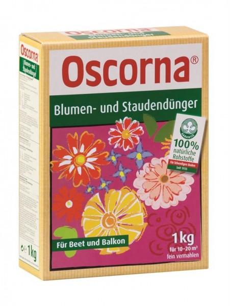Oscorna Blumendünger und Staudendünger Naturdünger 1 Kg Karton, organischer NPK-Dünger