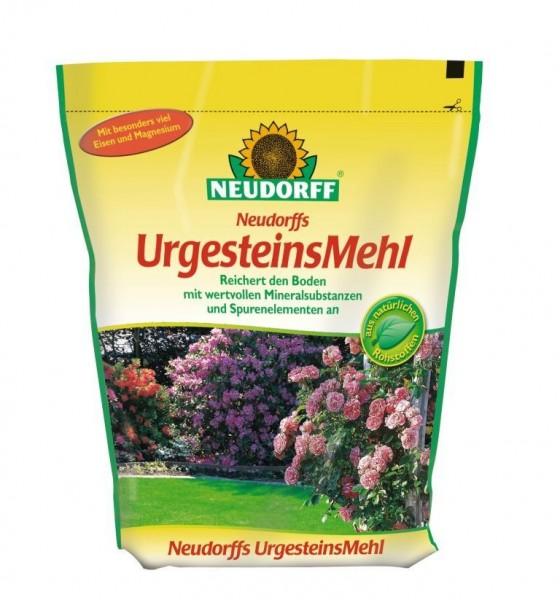 Neudorffs UrgesteinsMehl 2,5 Kg mit Mineralen und Spurenelementen, zur Bodenverbesserung 2,38 €/1 Kg