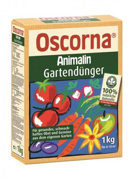 Oscorna Animalin Gartendünger, Naturdünger, organischer NPK-Dünger für Obst, Pflanzen, 1 Kg Karton