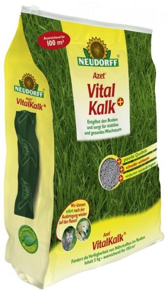 1,39 €/kg Neudorff Azet VitalKalk+ kohlensaurer Kalk für die Bodenfruchtbarkeit 5 Kg