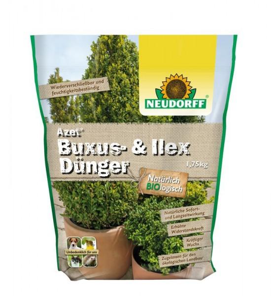 Azet Buxusbaum Kirschlorbeer Ilexdünger Langzeitdünger für immergrüne Gehölze 1,75 kg 4,54 €/ 1 Kg