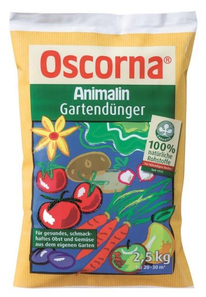 3,58 €/kg Oscorna Animalin Gartendünger, Naturdünger 2,5 Kg Beutel, organischer NPK-Dünger