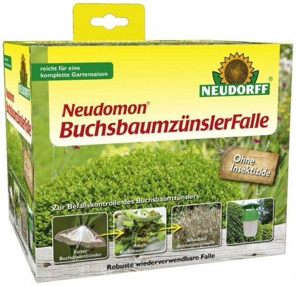 Neudomon BuchsbaumzünslerFalle, biotechnisch mit Lockstoff, zur Minderung des Befalls, 1 Set