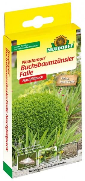 Neudomon BuchsbaumzünslerFalle Nachfüllpack mit 2 Lockstoffdepots, 1 Set