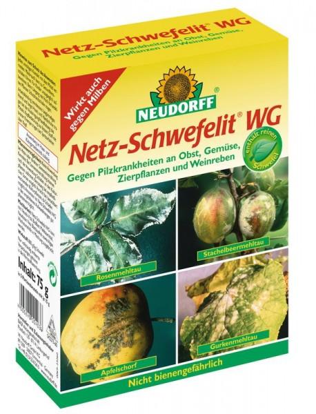 Netz-Schwefelit WG, gegen Mehltau an verschiedenen Pflanzen, 75 g Faltschachtel, 11,93 €/ 100 g