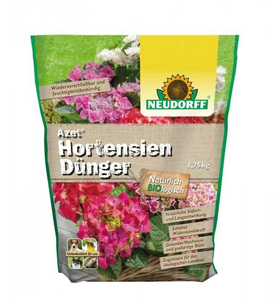 Azet Hortensiendünger auch für Kamelien Bougainvillea organischer Langzeitdünger 1,75 kg 4,54 €/1 Kg