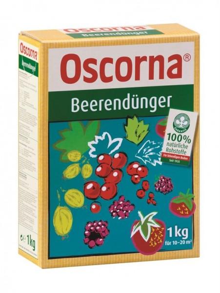 Oscorna Beerendünger organischer NPK Naturdünger für Beerenobst und Obstbäume 1 Kg Karton