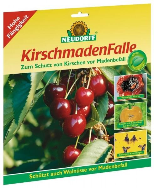 Neudorff Kirschmadenfalle, insektizdfrei, 7 beleimte Fallen, gegen Madenbefall im Set