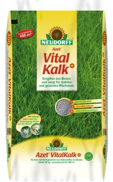 Neudorff Azet VitalKalk+ 20 Kg, kohlensaurer Kalk für die Bodenfruchtbarkeit, 0,80 €/1 Kg