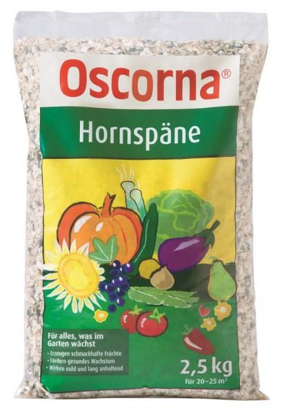 2,78 €/kg Oscorna Hornspäne, natürlicher Stickstoffdünger organischer Herkunft, 2,5 Kg Beutel
