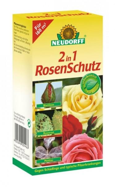 Neudorff 2in1 RosenSchutz gegen Insekten und Pilzkrankheiten, Kombipack, 100 ml Flasche