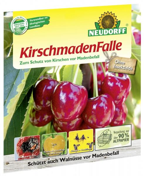 Neudorff Kirschmadenfalle insektizdfrei Gelbtafel 7 beleimte Fallen gegen Madenbefall im Set