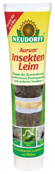 Neudorff Aurum Insekten Leim gegen Raupen Ameisen Insekten etc. 170 g Tube 4,68 €/100 g