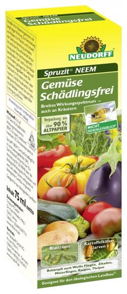21,32 €/100 ml Spruzit Neem Gemüse Schädlingsfrei natürl. Wirkstoff geg. Läuse Fliege Raupen 75 ml